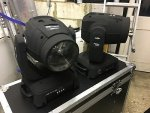 2x Showtec Phantom 130 Moving Head LED Spot 130W DJ Lighting